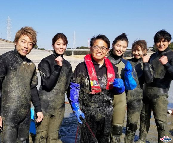 史上初!超巨大な貯水池「佐布里池」水抜きプロジェクト!橋本マナミも参戦!「緊急SOS!池の水ぜんぶ抜く大作戦」