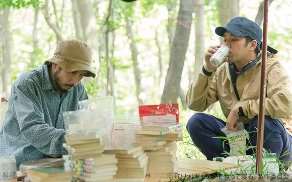 ひとりキャンプ×グルメドラマ!「ひとりキャンプで食って寝る」第1話 缶詰を使った簡単料理「富士山でチーズドッグ」