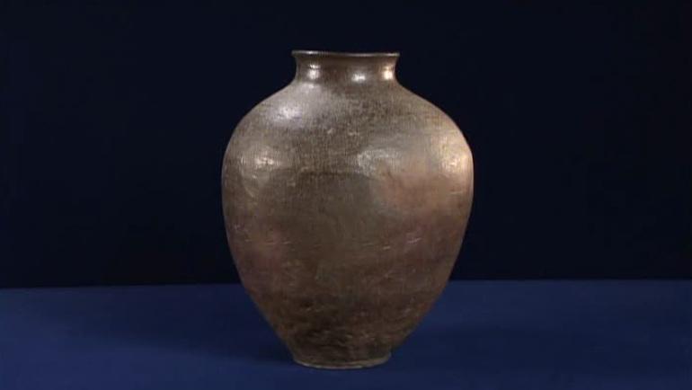 古備前の壺