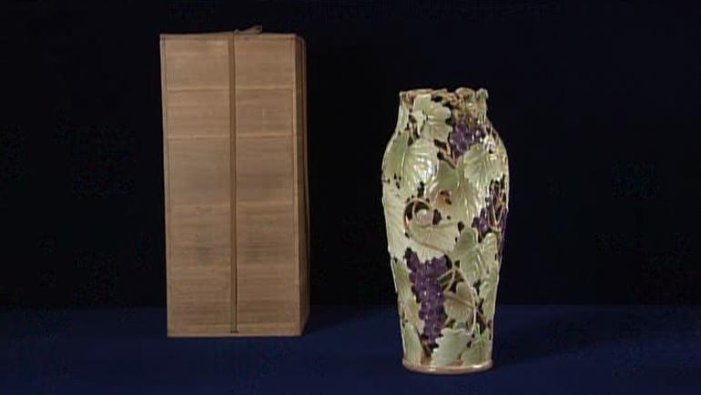 初代 諏訪蘇山の花瓶