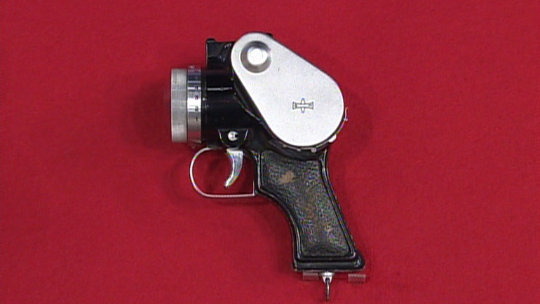 ピストル型カメラ