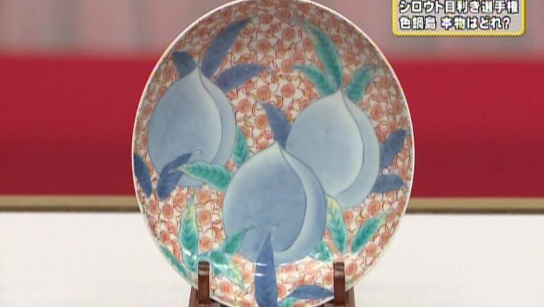 5寸 桜花図皿