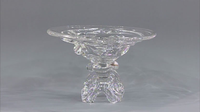 各務鑛三のガラス鉢