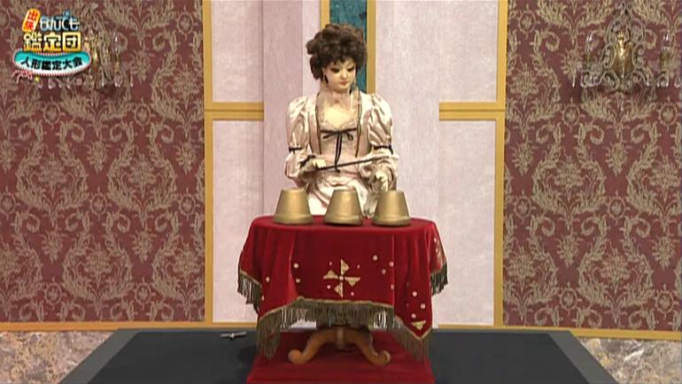 ミッシェル・ベルトラン作 オートマタ「美人手品師」