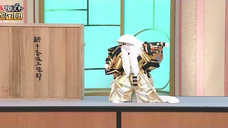平櫛田中作「鏡獅子」