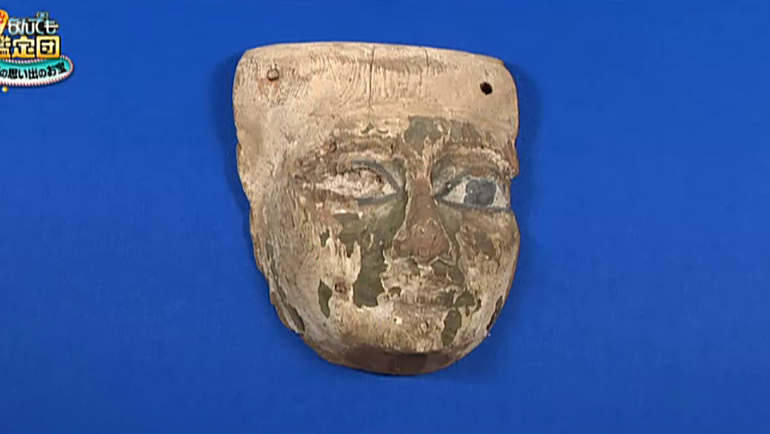 古代エジプトの木製面