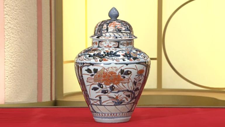 古伊万里の沈香壺