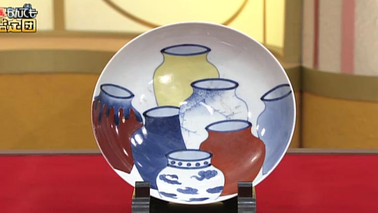 色鍋島の皿