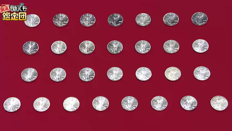 1ドル銀貨29枚
