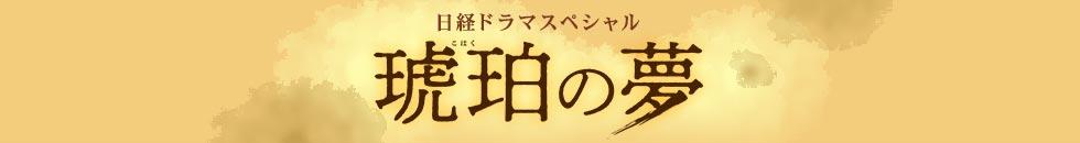 """日经特别电视剧""""琥珀的梦"""""""