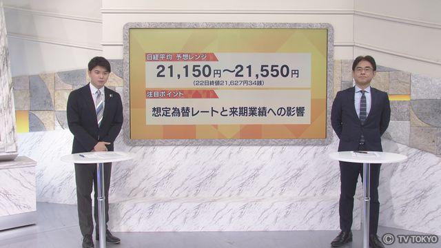 【日本株見通し】「想定為替レートと来期業積への影響」