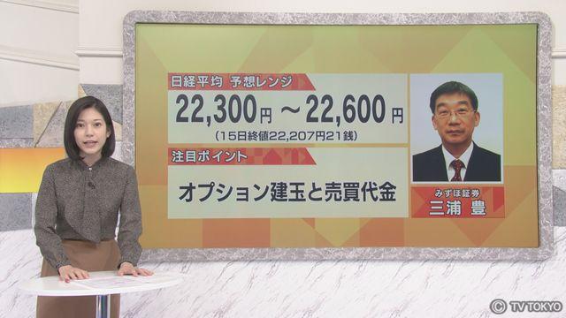 【日本株見通し】注目ポイントは「オプション建玉と売買代金」