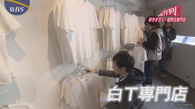 【THE行列】白Tシャツ 専門店