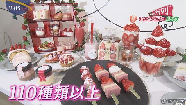 【THE行列】イチゴだらけの道の駅