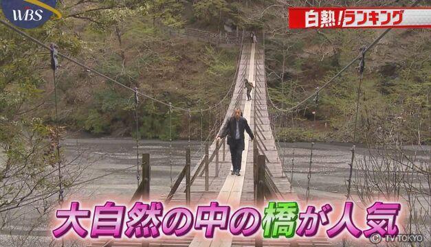 【白熱!ランキング】一度は歩いて渡りたい「橋」