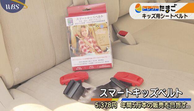 【トレたま】キッズ用シートベルト
