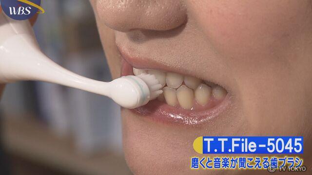 【トレたま】磨くと音楽が聞こえる歯ブラシ