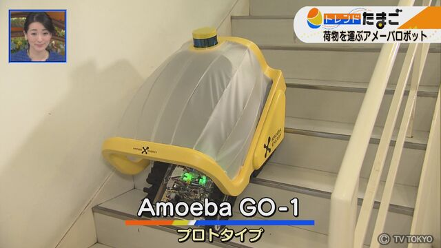 【WBSトレたま】荷物を運ぶアメーバロボット:ワールドビジネスサテライト(WBS)