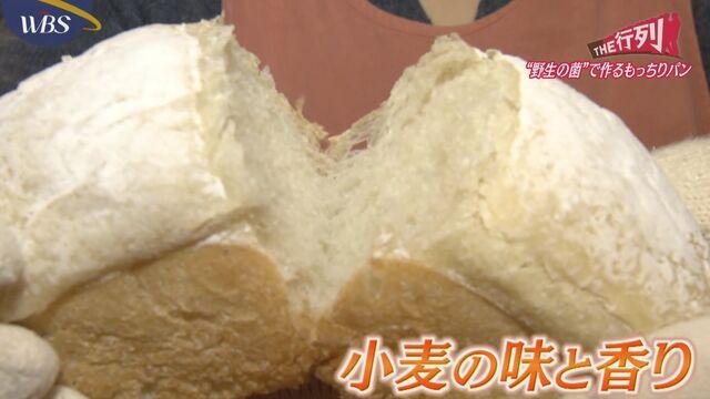 【THE行列】野生の菌で作るもっちりパン