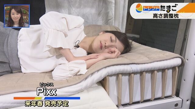 【トレたま】高さ調整枕