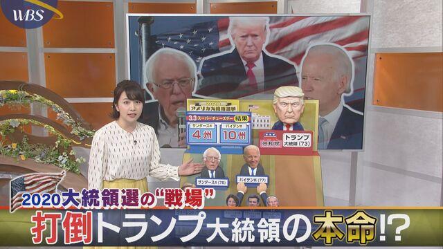 """2020 米大統領選の""""戦場"""" 打倒トランプ大統領の本命!?"""