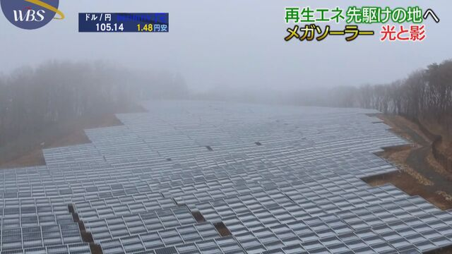 東日本大震災から9年 メガソーラーの光と影