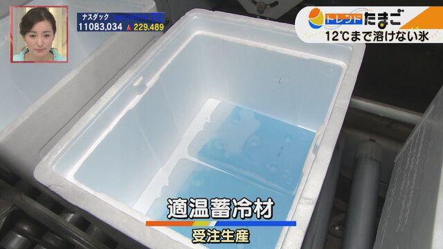 【トレたま】12℃で溶ける氷