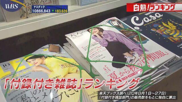 売り上げ倍増の雑誌も 新型コロナで「付録」に変化