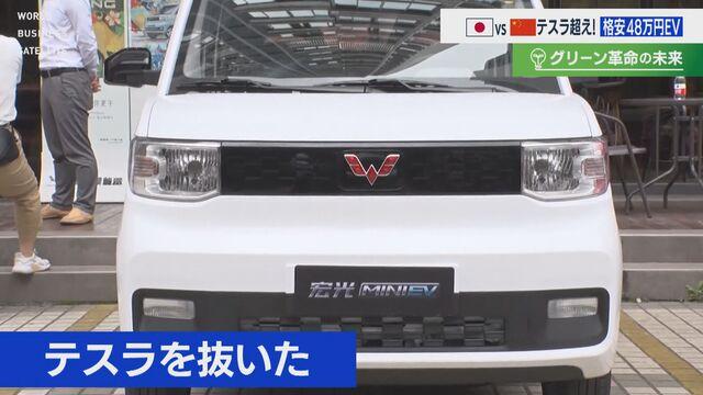 【グリーン革命の未来】日本 開発中 超小型EVが初公開