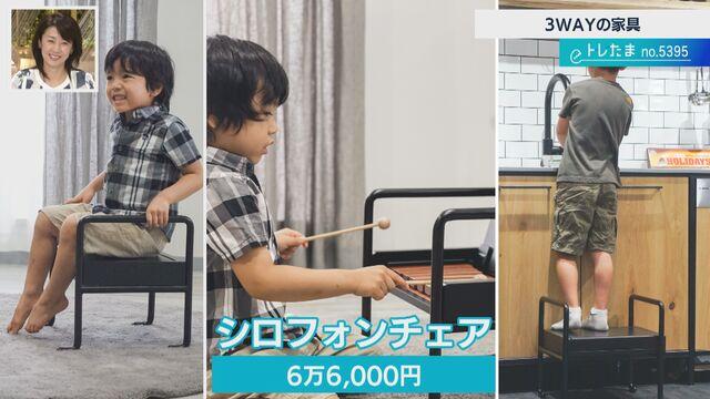 【トレたま】演奏できる椅子!?