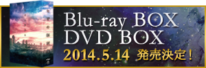 Blu-ray BOX DVD BOX 2014.5.14 発売決定!