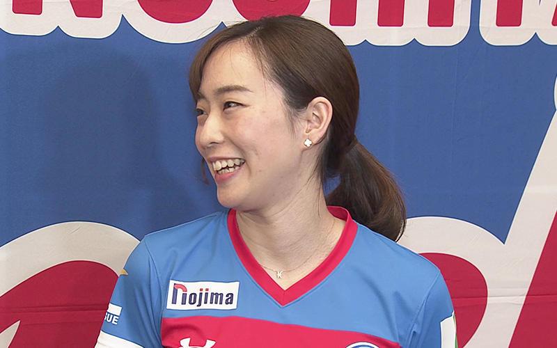 石川佳純 張本智和との初ペアに「張本君のやりやすいプレーをしたい。年齢は関係ないかな」