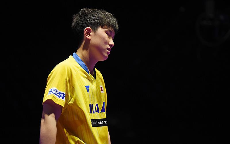 【卓球】張本智和ルーマニアの19歳に苦杯。丹羽孝希はフレイタスに屈する。共に初戦敗退<チェコOP>