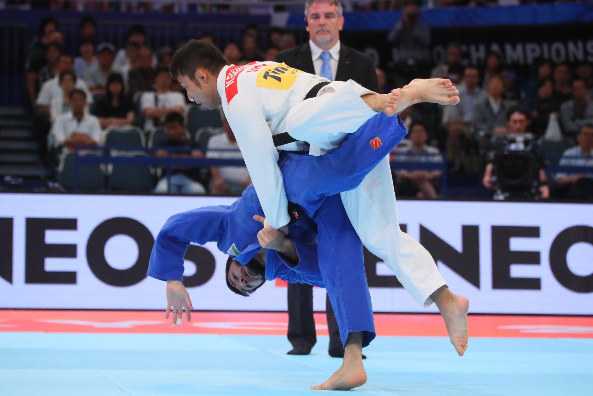 柔道世界選手権 髙藤直寿 三連覇ならず。準々決勝で一本負け