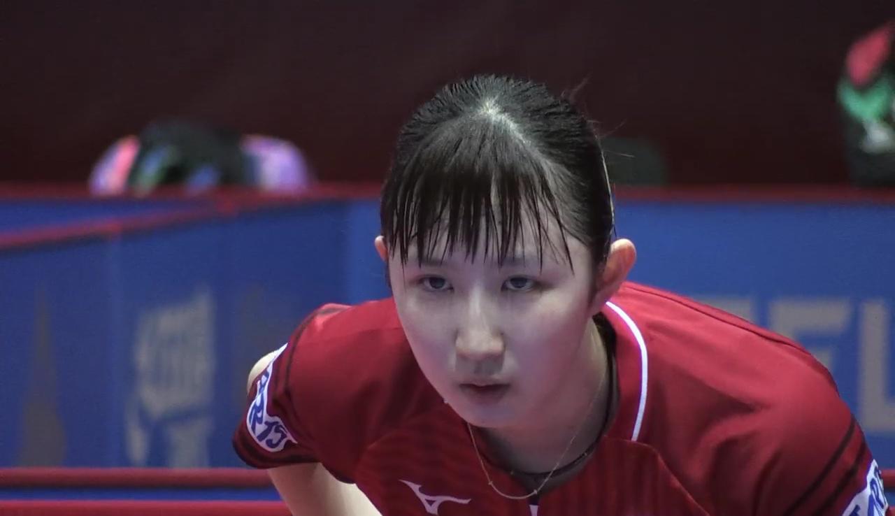 【動画】早田ひな 元世界ジュニア女王の中国選手にストレート勝ち!<卓球・ブルガリアOP>