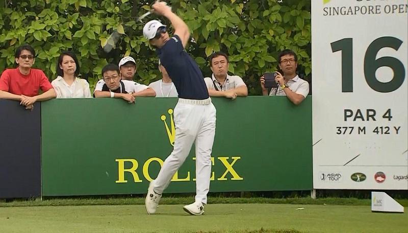 シンガポールオープン初日 石川遼15位タイ「自分のゴルフで勝負」
