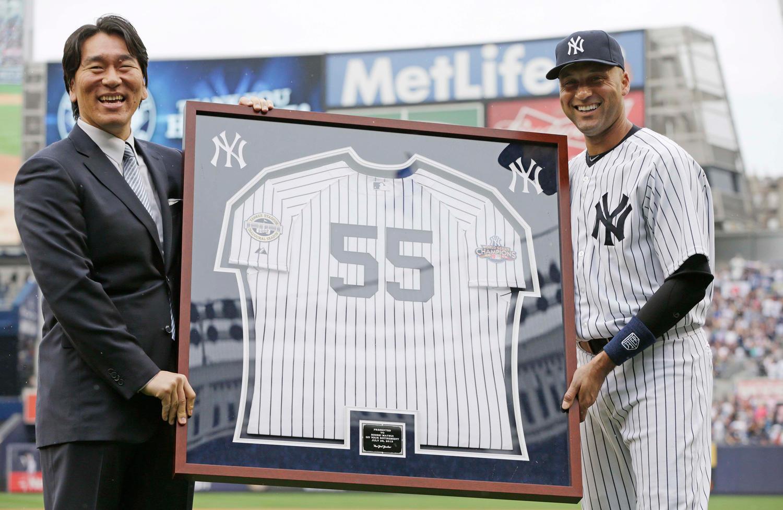 ヤンキースのスーパースター・ジーターが米野球殿堂入り!