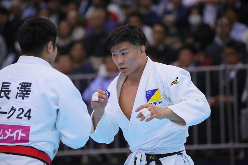 柔道 五輪代表維持に90キロ級 向翔一郎「しっかり準備し恩返しを」