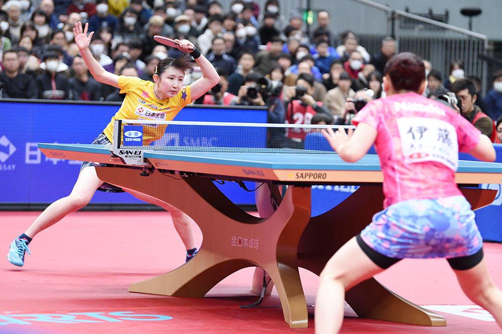 2021年 全日本卓球選手権は無観客で開催へ