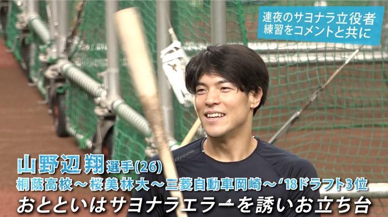 【西武】イマ熱い男・山野辺翔!試合前練習に密着