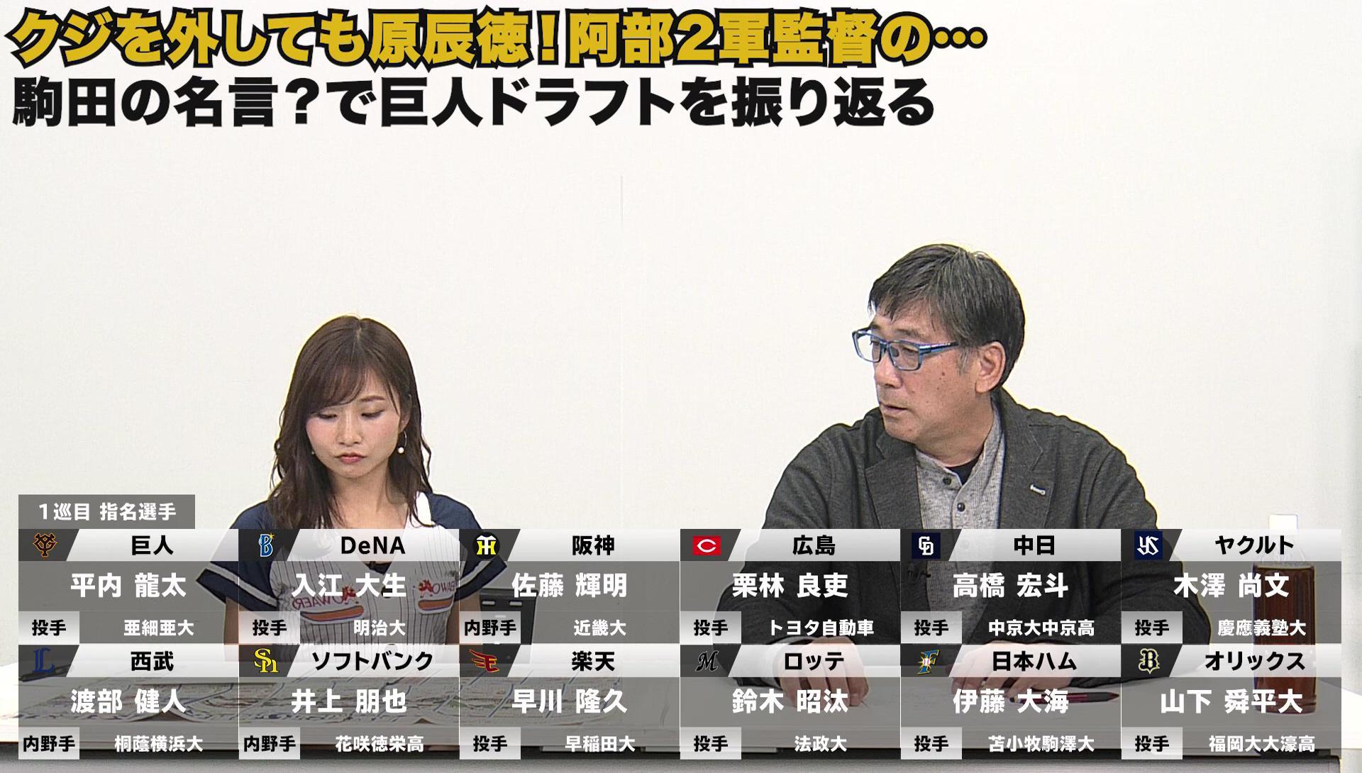 ドラフト抽選1勝11敗「外しても原辰徳!」駒田名言?珍言?で巨人ドラフトを振り返る