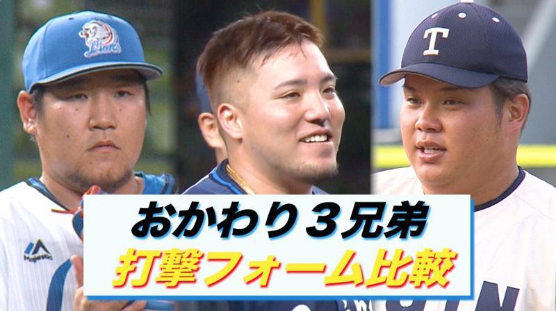 【西武】ドラ1位 桐蔭横浜大・渡部健人 打撃フォームチェック!|おかわり3兄弟比較