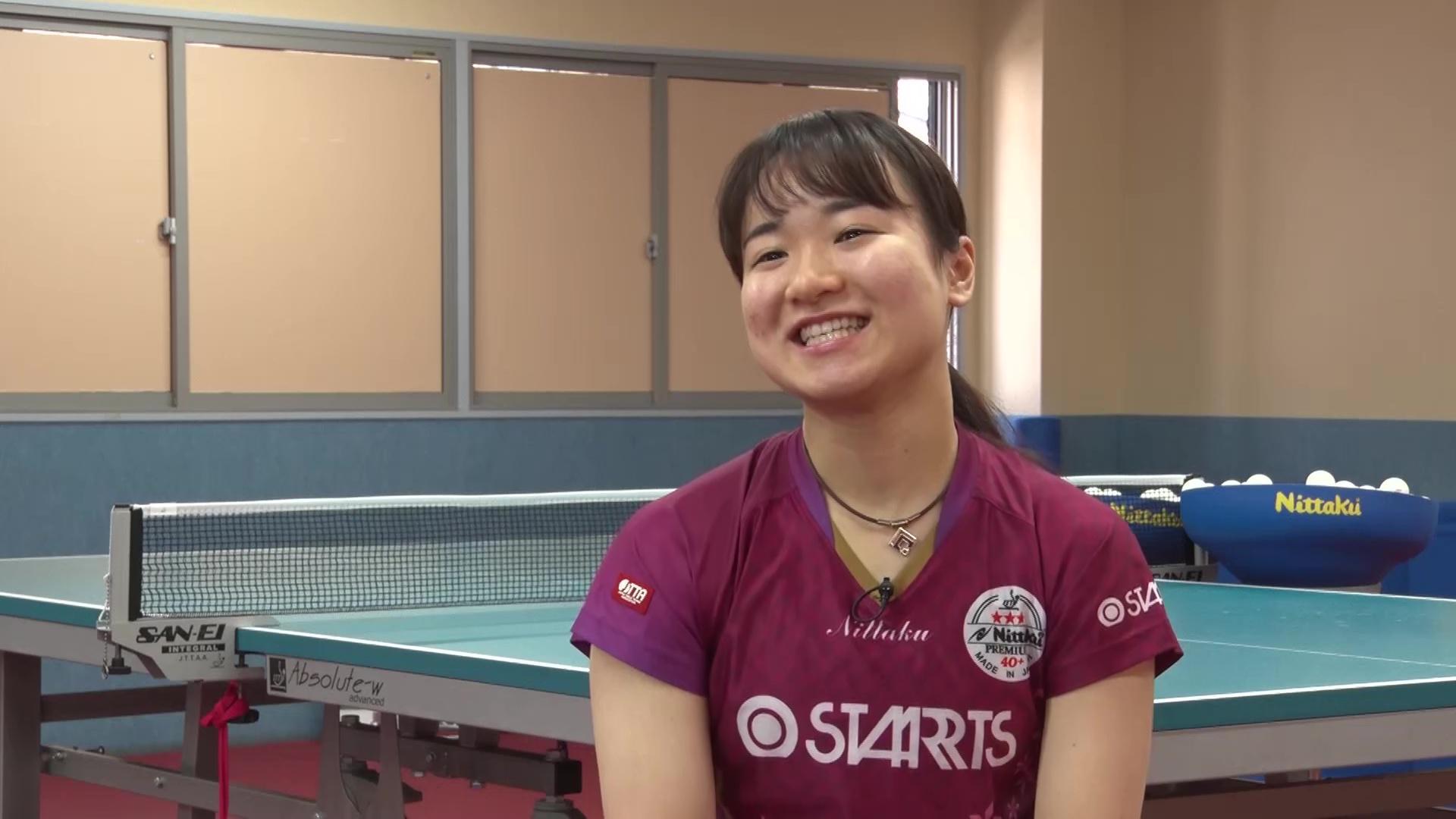 伊藤美誠 東京五輪へ「大爆発して最後は笑っていい色のメダルを獲れるように」