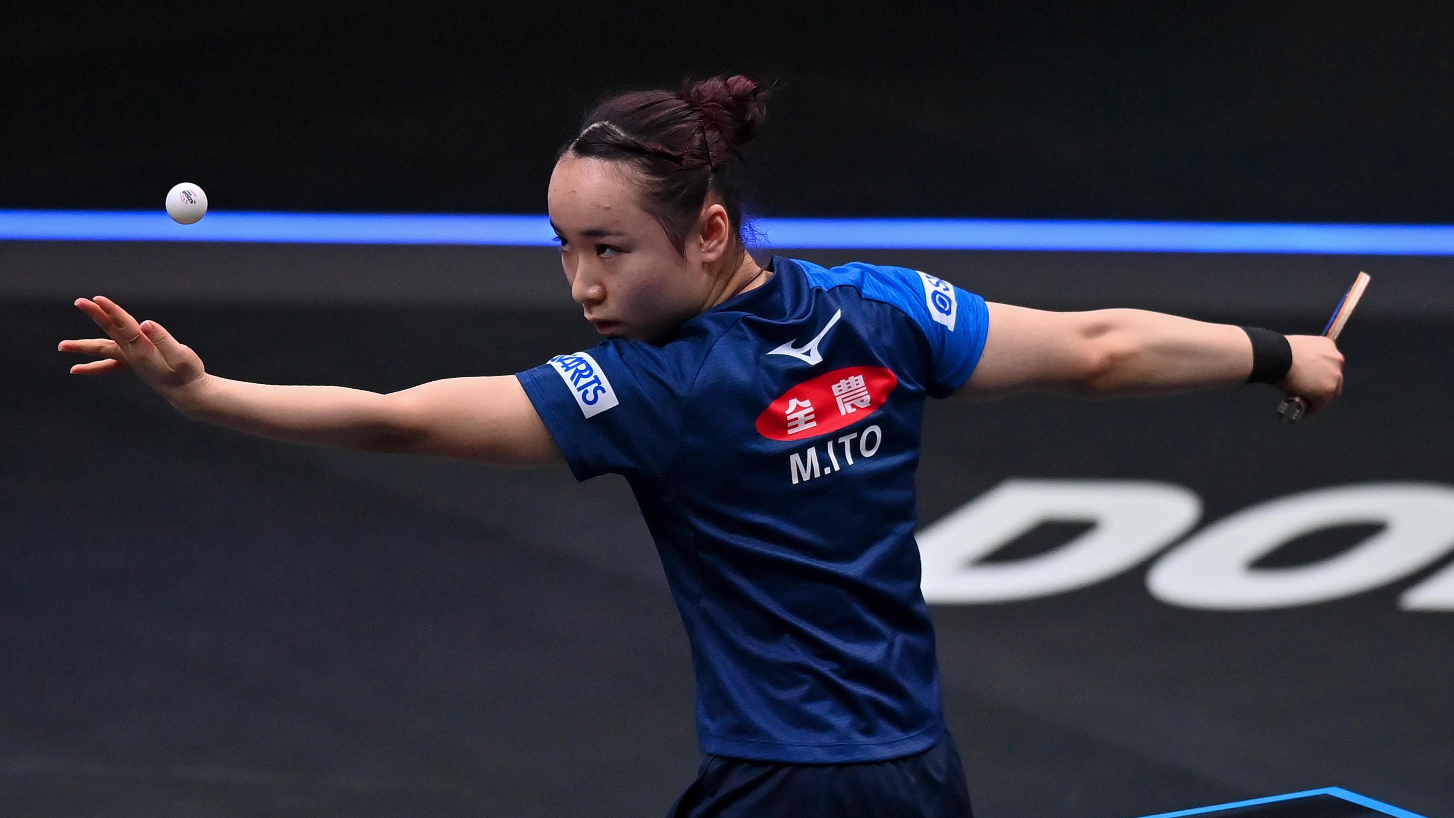 【卓球】男女日本代表 五輪直前に強化試合 張本、伊藤ら出場