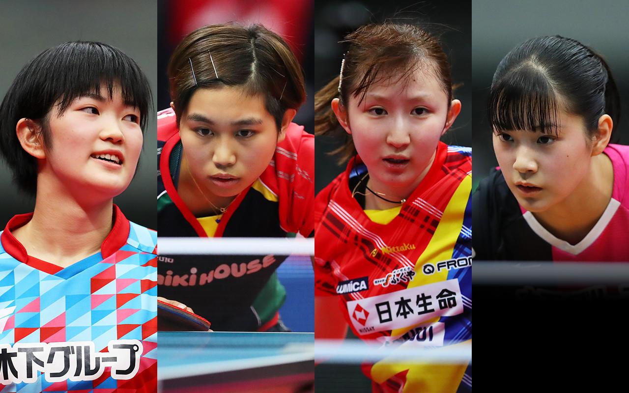 女子代表争いは狭き門 有力選手の筆頭は早田ひな【アジア卓球選手権 代表選考合宿 女子みどころ】