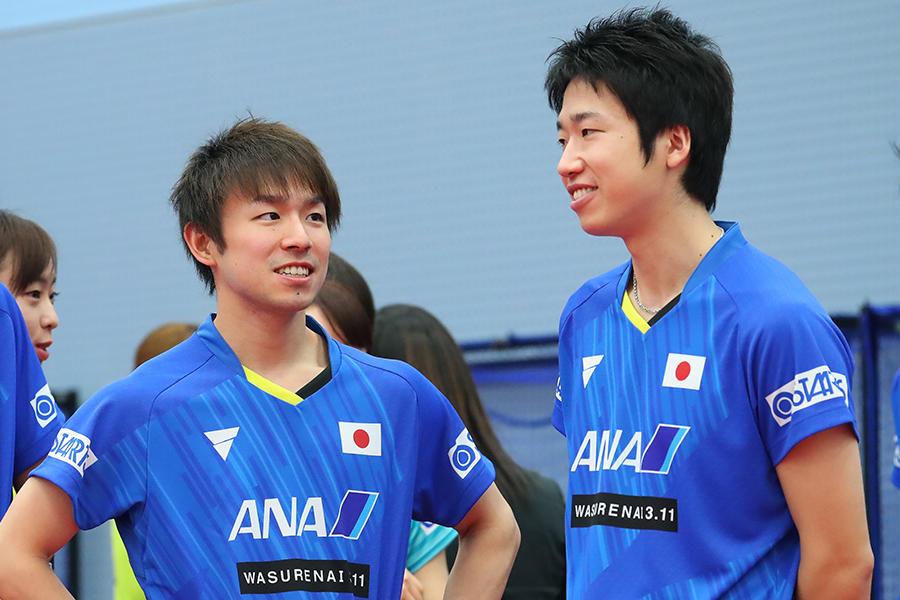 東京五輪 卓球男子団体の丹羽・水谷ペア 世界でも珍しい『左左ダブルス』の現在地