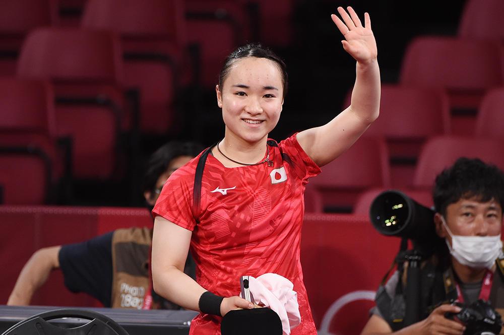 伊藤美誠 睡眠しっかり8時間。メダルマッチも「びっくりさせます!」【五輪卓球】
