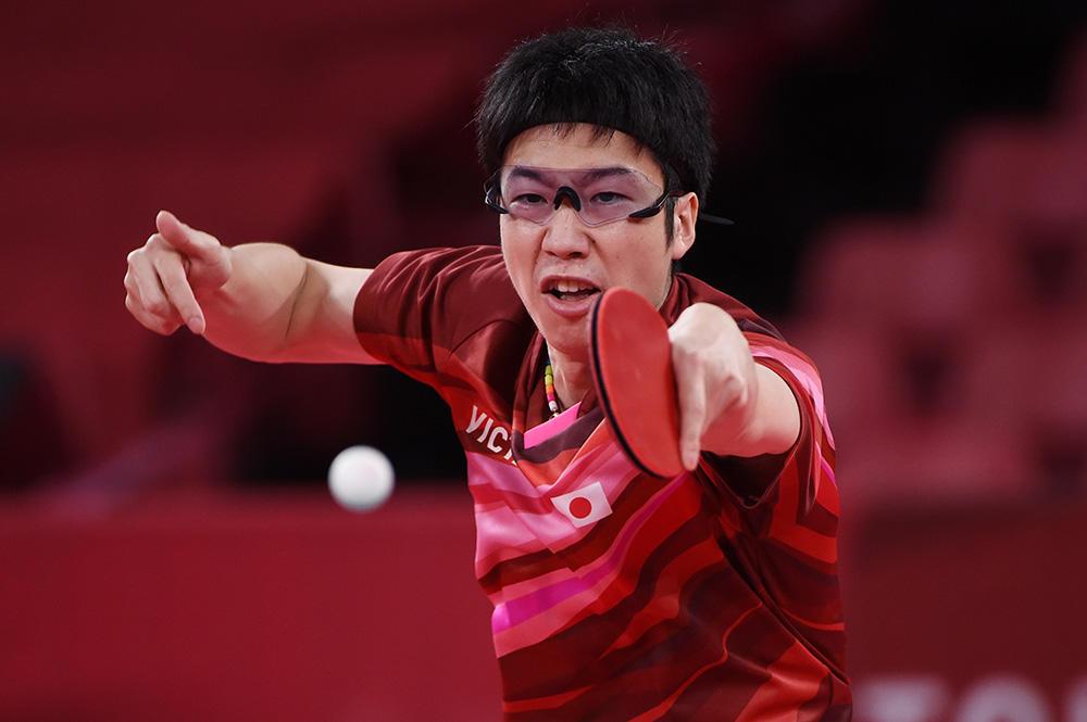 水谷隼 準決勝は「リオのときのドイツ戦を思い出して全力で頑張りたい」【五輪卓球 団体】