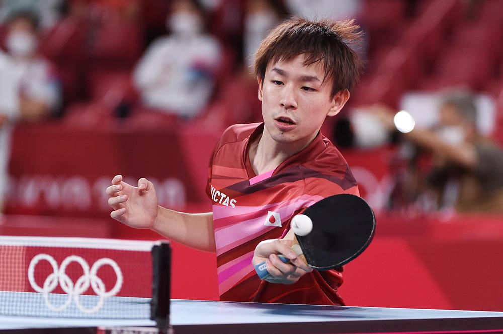 団体戦活躍の丹羽孝希が告白「打球点が下がってきている」【五輪卓球】