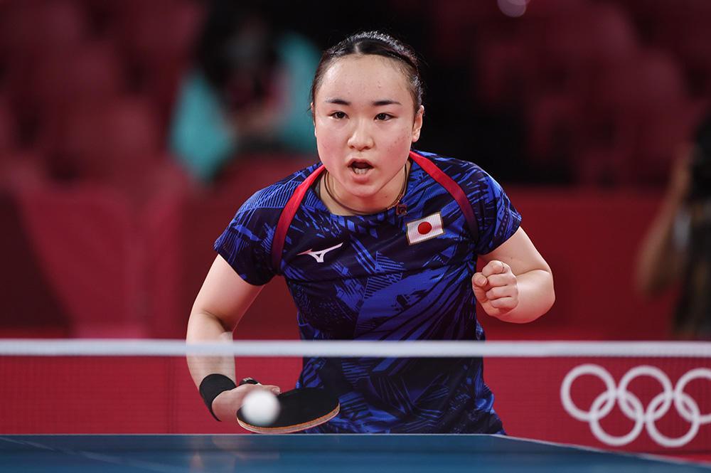 エース伊藤美誠 ハンガリーのエースを圧倒!8強まであと1勝【五輪卓球 団体】